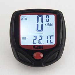 $enCountryForm.capitalKeyWord UK - SUNDING SD-546AE Bike Computer Speedometer Wireless Waterproof Bicycle Odometer Cycle Computer Multi-Function LCD Display #509964