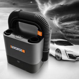 Ingrosso Spedizione gratuita Worx 20V WX030 Cordless Stick Vacuum 10000Pa leggera batteria ricaricabile due velocità portatile Aspirapolvere