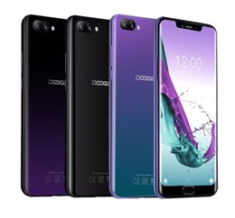 Android Phone Otg NZ - DOOGEE Y7 Plus Cell Phone 6.18inch MTK6757 Octa Core 2.5GHz 6GB 64GB 16.0MP 5080mAh Android 8.1 Fingerprint ID Face Unock 4G OTG