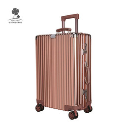 luggage hand bags Australia - Uniwalker Travel Large Size Carry On Rolling Luggage Bags Sets Designer Lightweight Durable Hard Shell Hand Suitcase