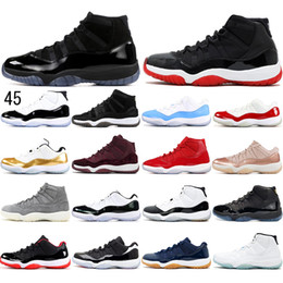 Discount emerald lace up gown With free Socks 11 High 11s Concord 45 Cap and Gown Heiress Platinum Tint EMERALD Women Men Basketball Shoes mens traine