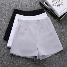 $enCountryForm.capitalKeyWord NZ - New Summer hot Fashion New Women Shorts Skirts High Waist Casual Suit Shorts Black White Women Short Pants Ladies Shorts
