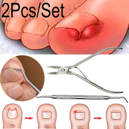 cutter pedicure Australia - Ingrown Foot Care Tool Toe Nail Correction Nippers Clipper Cutters Dead Skin Dirt Remover + Podiatry Pedicure Gift