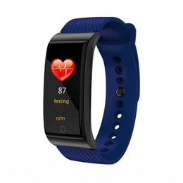 portuguese bracelets UK - F4 Smart Bracelet Blood Pressure Heart Rate Monitor Smart Watch Waterproof Bluetooth Pedometer Sports Wristwatch For iPhone Android Watch