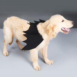 $enCountryForm.capitalKeyWord Australia - Halloween bat wing pet costumes wacky decor costumes only work for large canine bat wing costumes