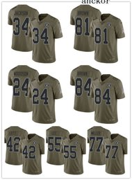 10bdc97b1 Oakland MEN WOMEN YOUTH 84 Antonio Brown 4 Derek Carr Limited Jersey  Football Raiders Olive 2017 Salute to Service