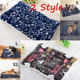Extra Small Dog House Australia - Hot Large Pet Dog Cat Bed Puppy Cushion House Pet Soft Warm Kennel Dog Mat Blanket