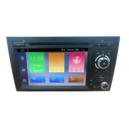 "Audi Car Mp3 Australia - Factory Wholesale 7"" Touch Screen 2 Din Android 8.1 Car DVD Player For Audi A4 GPS Auto Radio Stereo Multimedia Player"