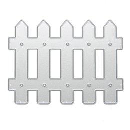 $enCountryForm.capitalKeyWord Australia - crapbooking Stamping Cutting Fence Scrapbook DIY Album Card Paper Card Maker Metal Die Cut Stencil Decoration Dies Craft Cutting Dies Te...