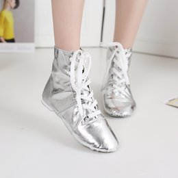 $enCountryForm.capitalKeyWord Australia - Fashion Silver Gold Ankle Boots Women Shoes Casual Round Toe Thick Increased Bling Ladies Short&Long Boots Lace-Up Female Boot