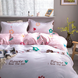 unique king beds Canada - Wildflowers Bedding Set Floral Duvet Cover King queen Full Twin Single family size Unique Design