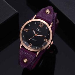 $enCountryForm.capitalKeyWord Australia - Ladies Watch Geneva Women Watches Fashion Roman Rhinestone Round Dial Leather Quartz Wrist Watch Gift Clock Bayan Kol Saati 2019