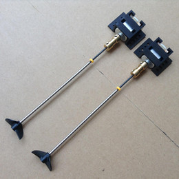 propeller model 2019 - 2set Set Double Motors RC Boat motor Drive Set 130 Motor+Motor Seat+Copper Coupling+15CM Shaft+Propellers Kit For DIY Mo