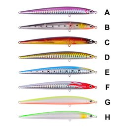 """Bass Fishing Lures Australia - Cheap Lures 1PC Top Pencil Fishing Lures 13.3cm-5.24"""" 29g-1.02oz 8 Color 4# BKB Hooks Bass Bait Fishing Tackle Lure + 20pcs Accessories"""