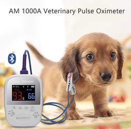 Toptan satış Veteriner Pulse Oksimetre AM1000A Veteriner El Pulse Oksimetre oximetro pulsioximetro pulse oksimetre parmak taşınabilir metre digi