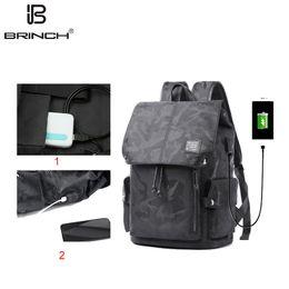 $enCountryForm.capitalKeyWord Australia - Brinch Unisex Casual Trends Backpack Travel Laptop Bag Simple Camouflage Backpack Waterproof Travel Shoulder Computer