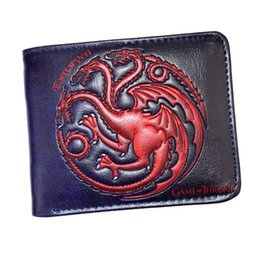 $enCountryForm.capitalKeyWord Australia - Leather Wallet The Song Of Ice And Fire Game Of Thrones Daenerys Targaryen Dragon Badge Men''s Short Purse