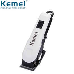 Professional Hair Razors Australia - Kemei 809A Professional LCD Electric Hair Clipper With 4 Limit Comb Rechargeable Shaver Razor Cordless Adjustable Salon Clipper