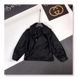 Korean leather jacKet brands online shopping - Children s clothing brand clothing autumn and winter new Korean version of the boys and girls leather jacket fashion jacket