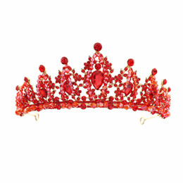 Wholesale Handmade Crown Headdress Bride Jewelry New Atmospheric Princess Super Immortal Wedding Garment Threepiece Birthday Accessories