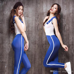$enCountryForm.capitalKeyWord Australia - Sexy Women Ice Silk Transparent Shiny Uniform Bodysuit Cosplay Japanese School Girls Suit Deep V Neck Club Wear Sexy Lingerie