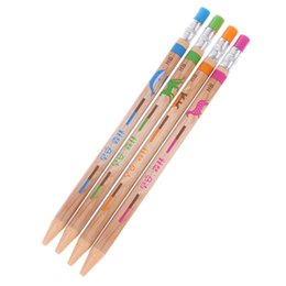 $enCountryForm.capitalKeyWord UK - 1 Set 2.0mm Plastic Automatic Mechanical Pencil With Sharpener Writing Stationery Gift