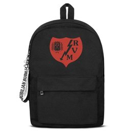 $enCountryForm.capitalKeyWord Australia - Rayo Vallecano Los Franjirrojos Classic red Free Shipping Women Men Canvas School Student Backpack Durable Travel Backpack Printing