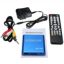 264 player NZ - Us Plug Mini Car Hdd Media Player Adapter Hdmi Av Usb Host With Sd Mmc Card Reader Support H.264 Mkv Avi 1920x1080P 100Mpbs(Bl