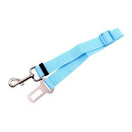 Automotive cAr seAts online shopping - New Pet Car Retractable Seat Belt Pet Leash Dog Car Seat Belts Automotive Interior Accessories
