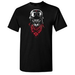 Chinese  T Shirt Hot Topic Sleeve Men'S Crew Neck Bandana Cat Short Compression T Shirts manufacturers