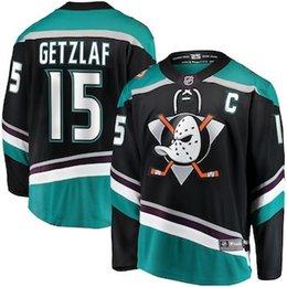 Toptan satış Ryan Getzlaf Anaheim nhl hokey forması John Gibson Brandon Montour Corey Perry Ondrej Kase buz hokey Formalar ucuz fabrika gömlek 4XL Ördekler
