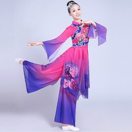 1bc584631 Hanfu women online shopping - Chinese style Hanfu classical dance costumes  female elegant fan dance costume