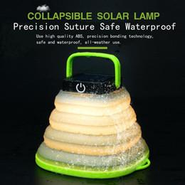 Venta al por mayor de Lámpara LED portátil telescópica USB carga solar luces de camping impermeable solar led iluminación exterior para emergencia carpa luces MMA1881