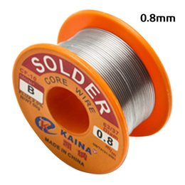 rosin core Australia - 1Pc 0.6 0.8 1.0mm Tin Lead Welding Wire Reel Rosin Core Flux Solder For Electrical Soldering Welding and electronic circuit 50g