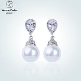 2e3da895fbb1af Drop Earrings Make Swarovski Australia - WARME FARBEN 925 Sliver Women Earrings  Made with Swarovski Crystal