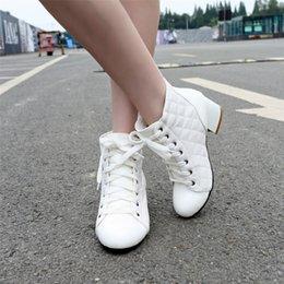 $enCountryForm.capitalKeyWord Australia - Lapolaka Brand Designer Booties Big Size 32-48 Lady Chunky Heels Shoes Woman Casual Autumn Winter Ankle Boots Women