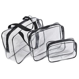 Transparent PVC Bags Travel Organizer Clear Makeup Bag Beautician Cosmetic  Bag Beauty Case Toiletry Make Up Pouch b88fe299918a6