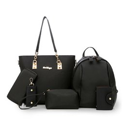 Nylon Totes Bags Australia - good quality New Fashion Women Oxford Handbags Composite Six Pieces Set Nylon Bag Female Casual Oxford Big Totes Shoulder Messenger Bag