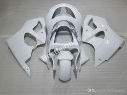 $enCountryForm.capitalKeyWord Australia - Moto parts customize fairing kit for Kawasaki Ninja ZX6R 1998 1999 white fairings set ZX6R 98 99 CF18