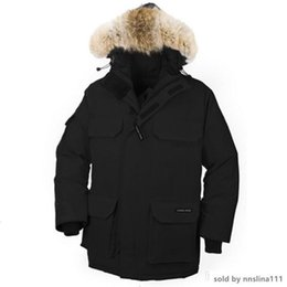 winter parka jackets for men Australia - Fashion Canada Warm Manteau Fur Hooded Thick Winter Men Goose Down Jacket for Canada Male Chaquetas Overcoat Man Outwear Expedition Parka