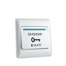 $enCountryForm.capitalKeyWord Australia - Fireproof Plastic ABS Door Exit Button Release Emergency Push Switch for door Entry access control system for all electric locks