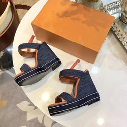 $enCountryForm.capitalKeyWord Australia - China wholesale top quality Luxury sexy fashion women ladys sides designer platform summer outdoor sandals heel high 12cm