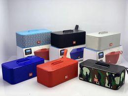 Subwoofer uSb input online shopping - TG802 Bluetooth Wireless Speaker Portable With Phone Holder Subwoofer Stereo mah Double Speaker