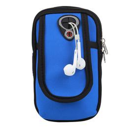 Wholesale Wrist Zipper Wallet Australia - Waterproof Wallet Mobile Phone Arm Bag Men And Women Running Arm Bag Wrist Multi-function with Money Unisex SBB-1