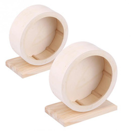 exercise toys NZ - Hamster Small Pets Wooden House Funny Wheel Running Rest Nest Playing Exercise Toy Pet Supplies Q190604