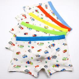 $enCountryForm.capitalKeyWord Australia - 10Pcs Lot Boys Cartoon printing underwear Boy's flat panties kids underpants Suitable for 2 to 14 year old boys Children's Fashion S19JS052