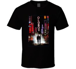 Discount south korea shirts - Oldboy T-shirt South Korean Movie Thriller Korea Park Ch Manga Cool Casual Pride T Shirt Men Unisex New Fashion Tshirt