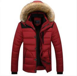 $enCountryForm.capitalKeyWord Australia - 2019 Hot sale Men Winter Jackets Coats Black Warm Down Jacket Outdoor Hooded Fur Mens Thick Faux Fur Inner Parkas Plus Size Famous Brand