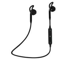 Headphones For Mp4 UK - 2019 new S6 Wireless Bluetooth Headphone Stereo Cellphone In-ear Headset with Microphone Outdoor Sport Running for Iphone 7 7plue Samsung s8