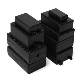 diy waterproof housing Australia - ire Junction Boxes New 2pcs Waterproof Black DIY Housing Instrument Case ABS Plastic Project Box Storage Case Enclosure Boxes Electronic ...